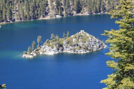 Fannette Island sur le lac Tahoe - Californie Nevada (USA)