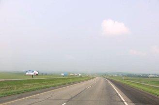 Sur la route entre Fargo et Miles City