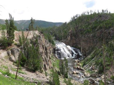 Gibbon Falls - Yellowstone NP