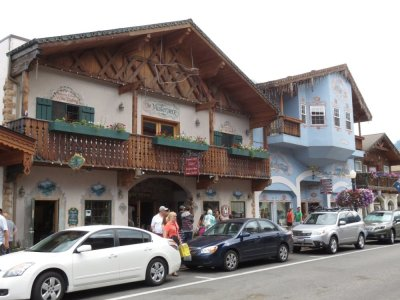 Leavenworth - Village bavarois (Washington USA)