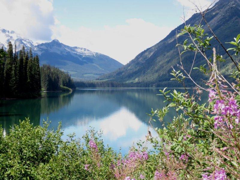 Le lac Duffrey - Colombie Britannique (Canada)