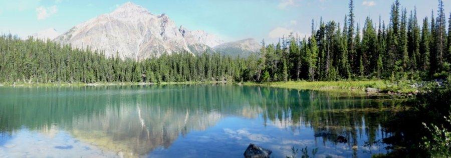 Le lac Edith Cavell - La route des Glaciers - Rocheuses canadiennes