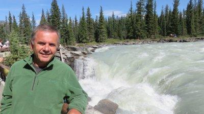 Chutes d'Athabasca -  La route des Glaciers - Rocheuses canadiennes