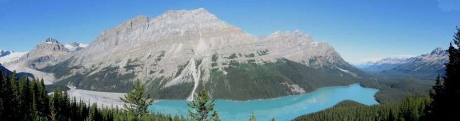 Le lac Peyto - Rocheuses canadiennes