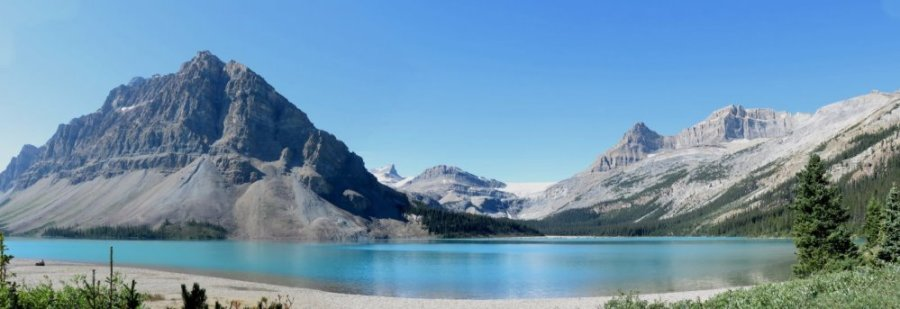 Le lac Bow - Rocheuses canadiennes