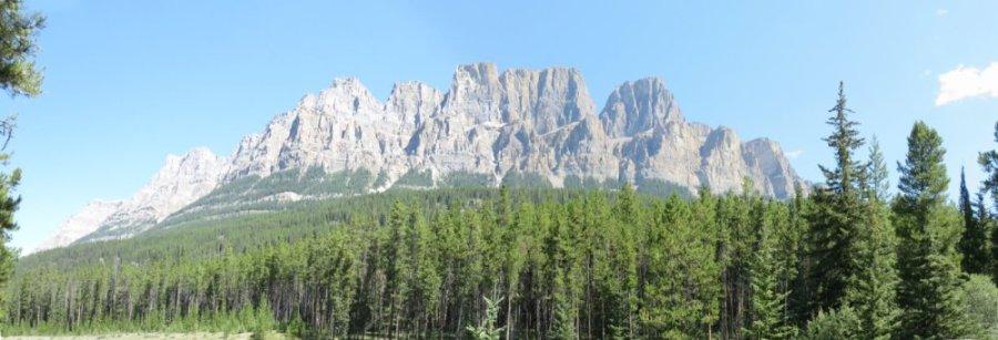 Castle Mountain - Rocheuses canadiennes
