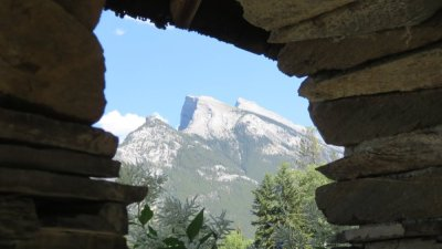 Cascade of Time Gardens - Banff NP - Rocheuses canadiennes