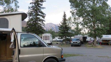 Wapiti RV Campground - Canmore