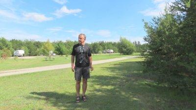 Davy Lake campground Ignace - Canada