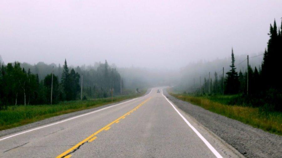Sur la route entre Marathon et Sault Sainte Marie - Ontario (Canada)
