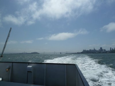 Ferry San Francisco - Sausalito (Californie)