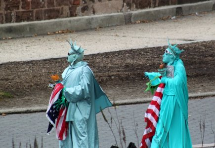 La statue de la Liberté a beaucoup d'enfants, à priori !
