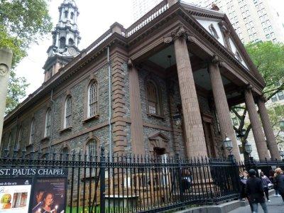 Eglise St Paul - Manhattan