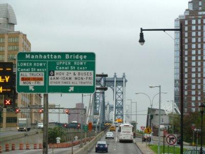 Brooklyn - le pont de Washington