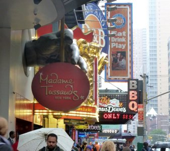 Le Musée de Madame TUSSAUDS - New York