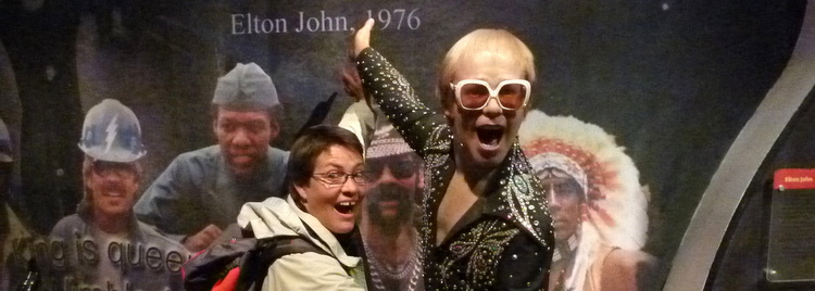 Myriam s'éclate avec Elton John !