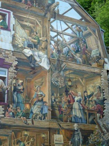 Le vieux Québec et ses trompe-l'oeil !