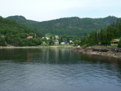Le fjord du Saguenay - Québec