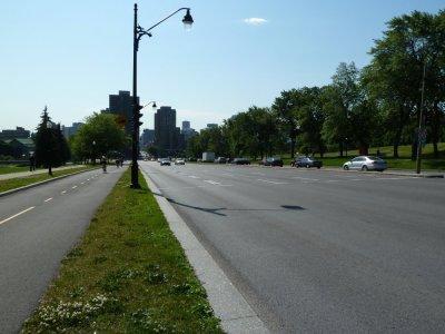 Direction le parc Mt Royal - Montréal