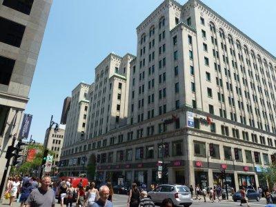 La rue Ste Catherine - Montréal