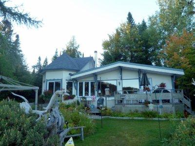 Notre maison d'échange à Val des Lacs au bord du lac Gagnon - Québec