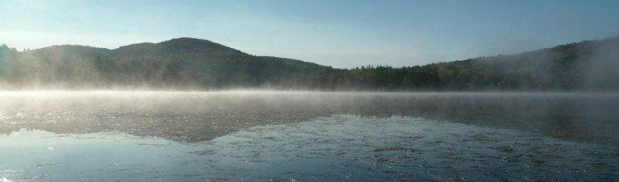 Le lac Gagnon- Val des Lacs (Québec)