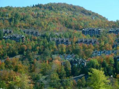 Sur la route de Mt Tremblant - Québec
