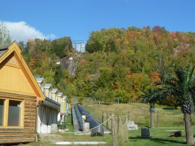 La station de Mt Tremblant - Québec