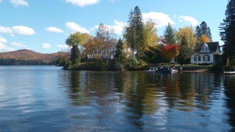 Le lac St Joseph - St Adolphe d'Howard - Québec