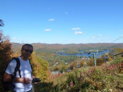 Le lac St Joseph vu du Mt Avalanche - Québec