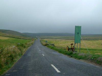 Direction les falaises de Moher depuis Ennistymon - Irlande