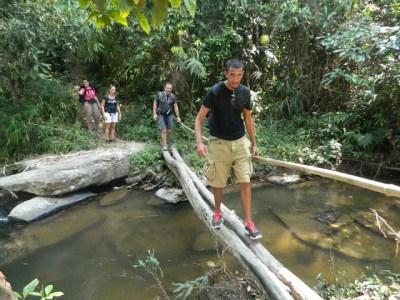 Trek dans les montagnes au nord de Chiang Mai - Thaïlande