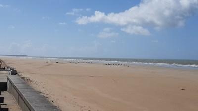 La plage de St Hilaire-de-Riez - Vendée