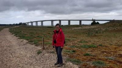 Devant le pont de Noirmoutier