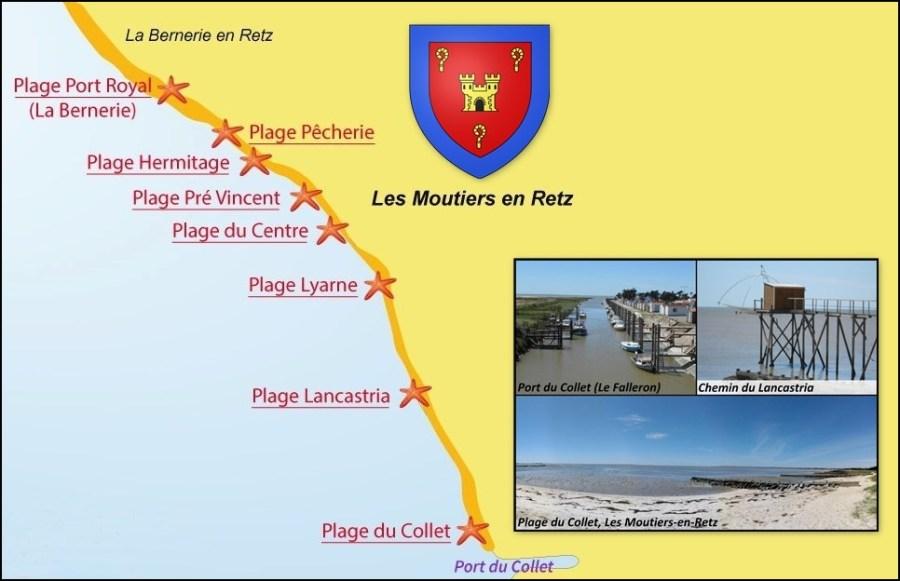 Le port et la plage du Collet - Les Moutiers-en-Retz