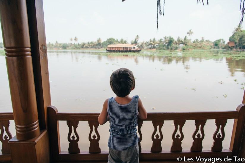 Voyager en famille en Inde, Backwaters