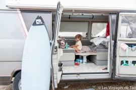 Lit cabine fourgon pour enfant