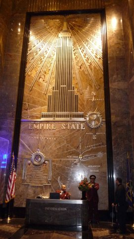 Hall de l'Empire State Building