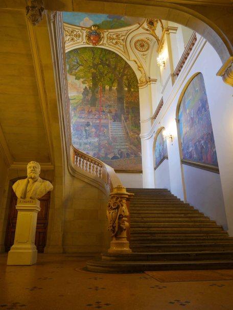 Escalier Capitole Toulouse