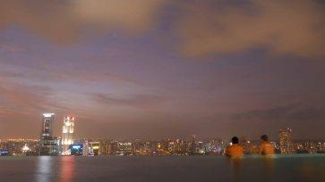 Piscine Marina Bay Sands Singapour