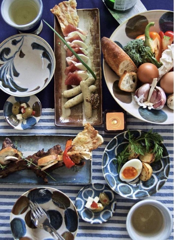 Servizi Giappone, bol tazze, ramen, sushi
