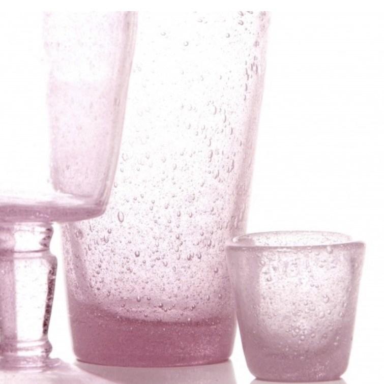 bicchieri colorati in pasta di vetro