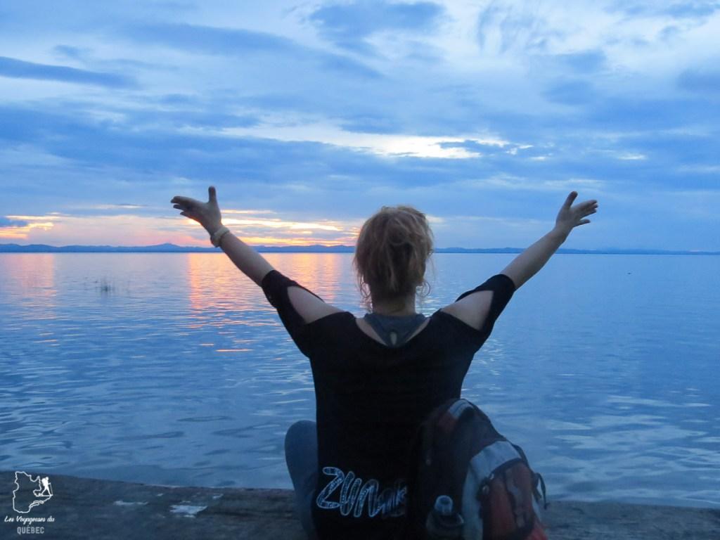 Coucher de soleil à Ometepe dans mon article Mon voyage au Nicaragua en 10 coups de cœur et incontournables à visiter #nicaragua #voyage #ameriquecentrale #ometepe