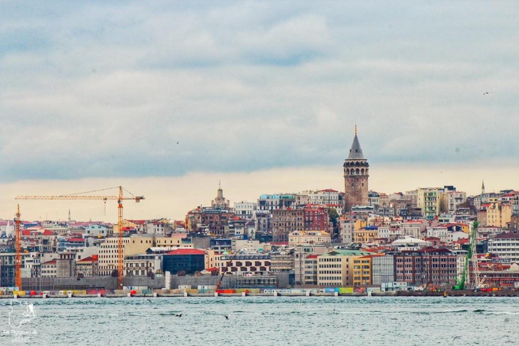 La ville d'Istanbul en Turquie dans mon article Mon itinéraire en Turquie: Que faire, voir et visiter en 7 jours #turquie #voyage #asie #cappadoce #istanbul