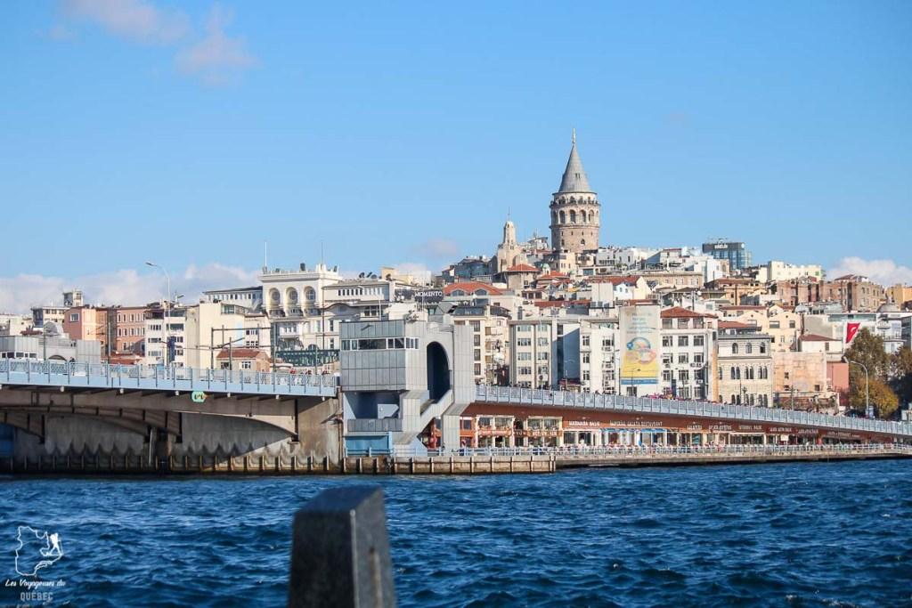 Le pont qui traverse le Bosphore à Istanbul en Turquie dans mon article Mon itinéraire en Turquie: Que faire, voir et visiter en 7 jours #turquie #voyage #asie #cappadoce #istanbul