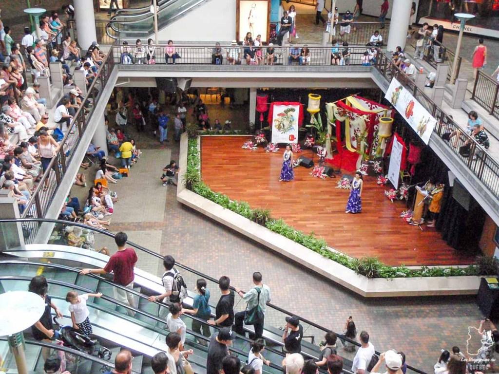 Le Ala Moana Center à Honolulu dans notre article Que faire à Honolulu sur l'île d'Oahu à Hawaii #oahu #honolulu #hawaii #hawaï #voyage