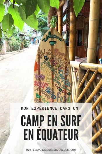 Surf en Équateur : Mon expérience dans un camp de surf à Montañita #surf #equateur #campdesurf #montanita