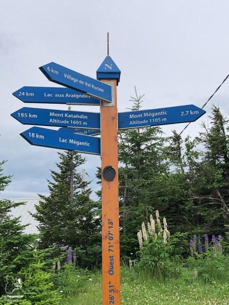 Marche à Mégantic sur le Compostelle du Québec dans notre article Chemin de Compostelle au Québec : Circuit de 6 jours au cœur de Mégantic #compostelle #quebec #megantic #cantonsdelest #marche #pelerinage
