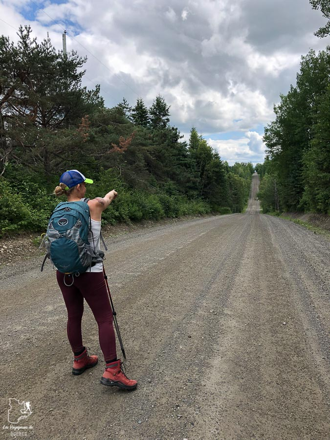 En pèlerinage à Mégantic dans notre article Chemin de Compostelle au Québec : Circuit de 6 jours au cœur de Mégantic #compostelle #quebec #megantic #cantonsdelest #marche #pelerinage