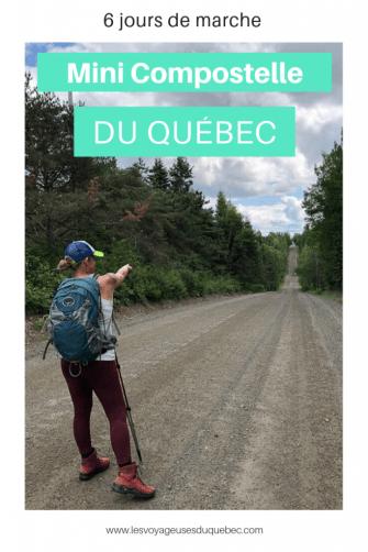 En pèlerinage sur le Mini-Compostelle du Québec à Mégantic sur le Compostelle du Québec dans notre article Chemin de Compostelle au Québec : Circuit de 6 jours au cœur de Mégantic